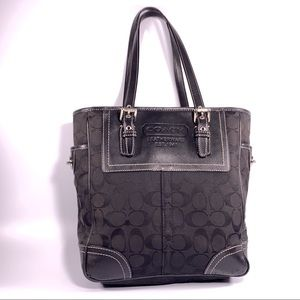 Coach F77116 Voyage Signature 2 Way Tote Bag